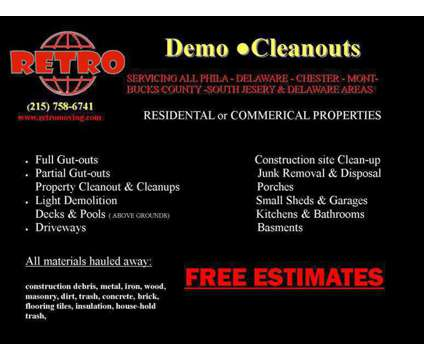 Demolition & Cleanout Services