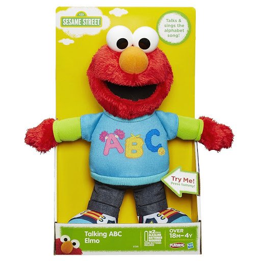 Talking ABC Plush Elmo 12