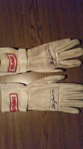 Official autograph ,Dale Jarrett Gloves (Timmonsville)