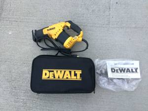DeWalt Reciprocating Saw Firm Price (Monroe)