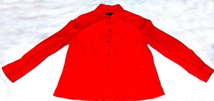 Brand New Ladies (Women's) Fashion Genuine Leather Shirt Size Large