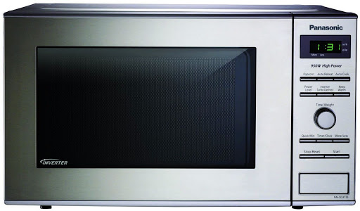 Panasonic Stainless 950W 0.8 Cu. Ft. Countertop Microwave