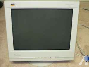 "Viewsonic G90f 19"" Super-Flat CRT Monitor - $25 (Anderson)"