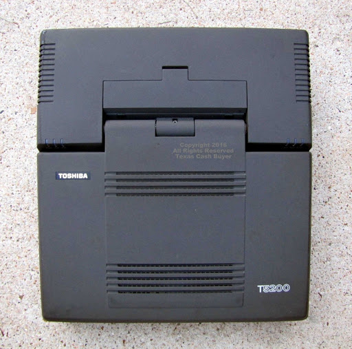Toshiba 5200 Spy Computer With Upgrades & CD Burner &