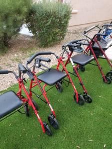 Walker, wheelchair, knee scooter, handicap device (Sw vegas)
