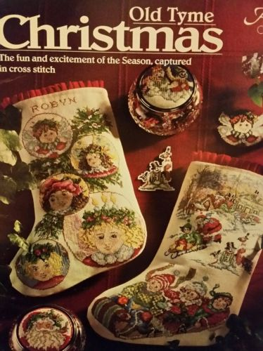 Old Tyme Christmas Cross Stitch for Stockings pattern