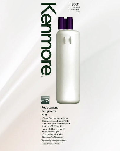 Kenmore 469081 Replacement Refrigerator Water Filter