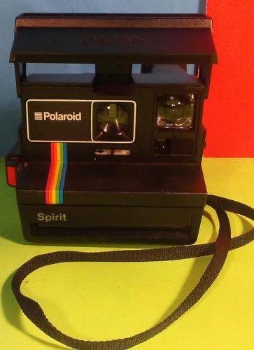 Vintage Polaroid Spirit 600 CL Instant Film Camera Rainbow