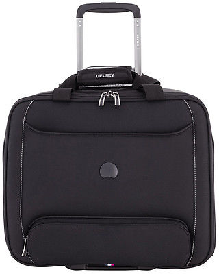 Delsey Chatillon Trolley Tote Bag Wheeled Carry On Luggage