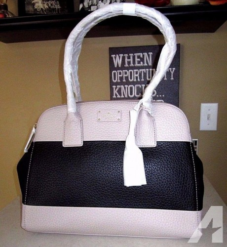 BRAND NEW kate spade new york Kendall Court Hughes Leather Satchel Dust Bag and