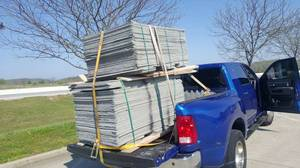 Wonderboard cement sheets (Campbellsville)