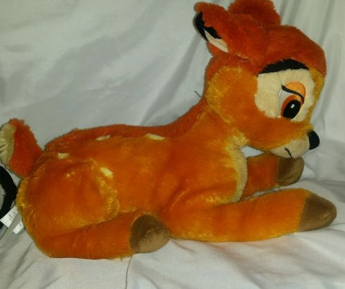 EUC Disney Store Authentic Bambi Deer Plush Stuffed Animal