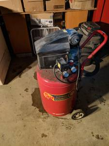 5hp Buffalo Pneumatic 20 Gallon Air Compressor - NO TRADES (Fort Wayne)