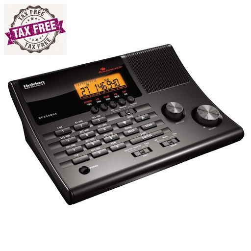Uniden BC365CRS 500 Channel Clock/FM Radio Scanner with