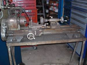Craftsman armature lathe (orange beach)