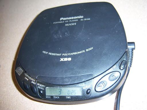 Panasonic Personal Portable Cd Player Discman Sl-S138