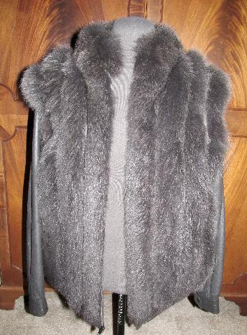 Norwegian Gray Fox Vest