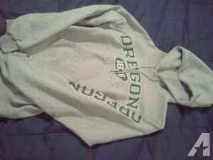 Gray Oregon Ducks Sweatshirt, sz small