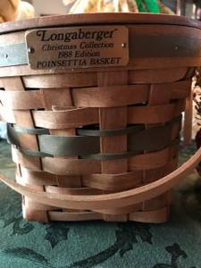 Longaberger Christmas Baskets (Carmel)
