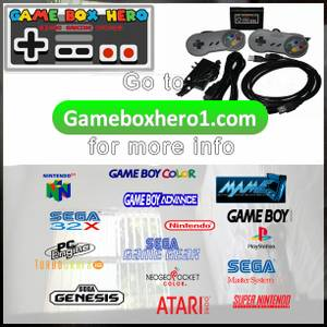No way! All the video games from when you were a kid in 1 console Fant (Rowland