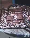 Guess Cheetah Box Handbag with Bow - $50 (East Tucson)