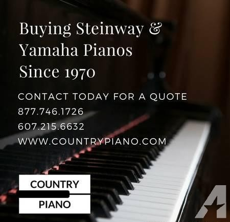 We need Steinway & Yamaha pianos â?? you need space!!!