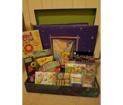 Tinker Bell Scrapbook with 3D Stickers