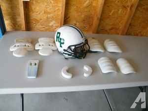Football Helmet & Pads - $40 (North Muskegon)