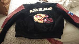 Brand new suede 49ers jacket (Puyallup)