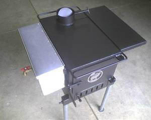 Canvas wall tent stove (molalla/colton)