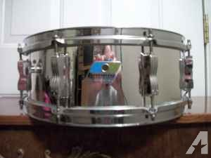 Ludwig Vintage Chrome Snare for Sale -