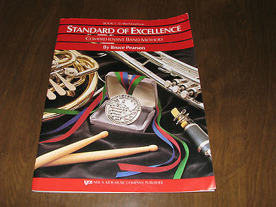 Standard of Excellence Book 1 Alto Saxophone Bruce Pearson