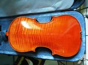 Flame Maple Viola with case and bow - $320 (Delivered)