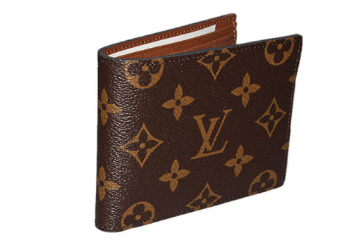Louis Vuitton Unisex Monogram Canvas Bifold Wallet Authentic