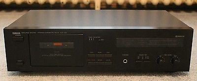 Yamaha Natural Sound Stereo Cassette Deck KX-150 + Manual