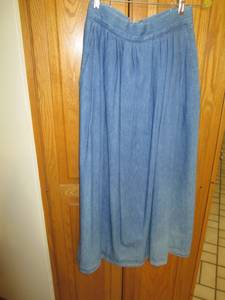 Vintage long Jeans Skirt by Ruff Hewn (Chaska)