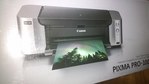 NEW Canon PIXMA PRO-100 Digital Photo Inkjet Printer WiFi