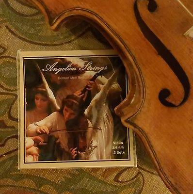 Angelika violin strings 4/4-3/4