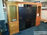 T V Cabinet quot; TV with Tivo unit - Price: $.
