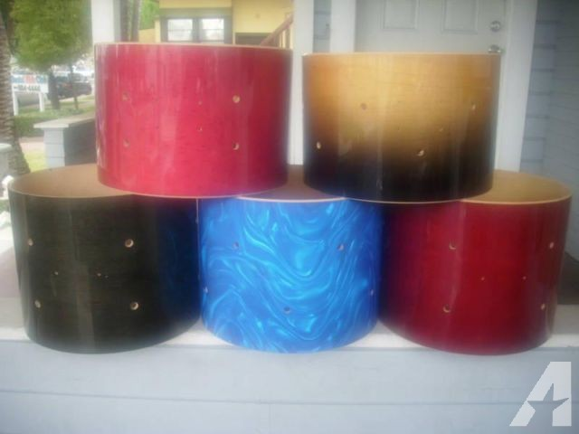 DRUM SHELLS GALORE! keller toms/snares, acrylic...