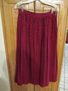 Vintage Flannel Skirt by Cambridge Goods (Chaska)