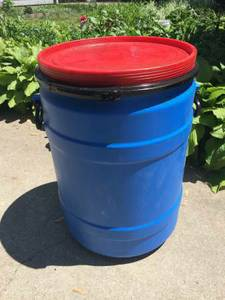 30 Gallon FOOD GRADE Barrels drums WITH HANDLES (NEW PALESTINE INDIANAPOLIS)