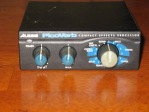 Alesis PicoVerb compact effects processor (westside)