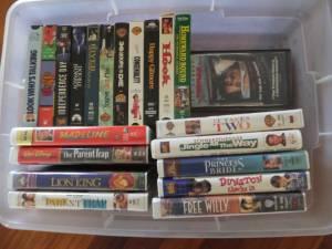 VHS Movies (plantation)