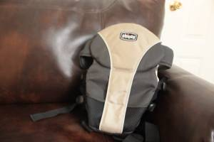 Chicco infant/baby carrier-Front or Back can carry up to 25 lbs baby (tempe