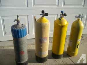 Scuba Dive Tanks - $40 (Corning)
