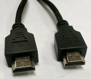 HDMI Cable Cord 4K Ultra HD Wieson 6' Black (Lincoln)