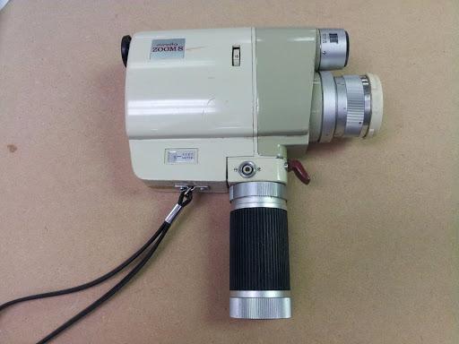 Vintage Minolta Zoom 8 Video Camera w/ Zoom Rokkor 1:1.8 /