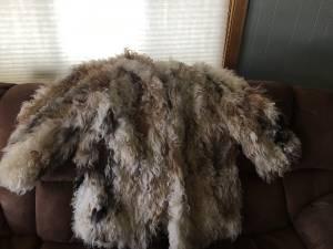 Vintage curly lamb wool coat (Anaconda)