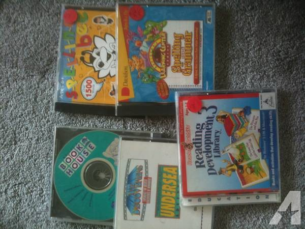 Educational CD's for computer